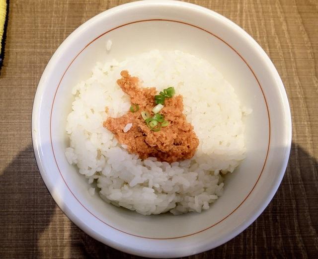 鮭と明太子の冷製飯