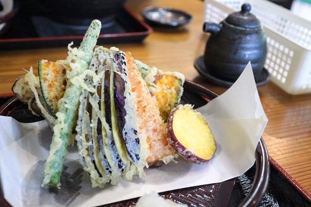 玄庵 野菜天ぷら