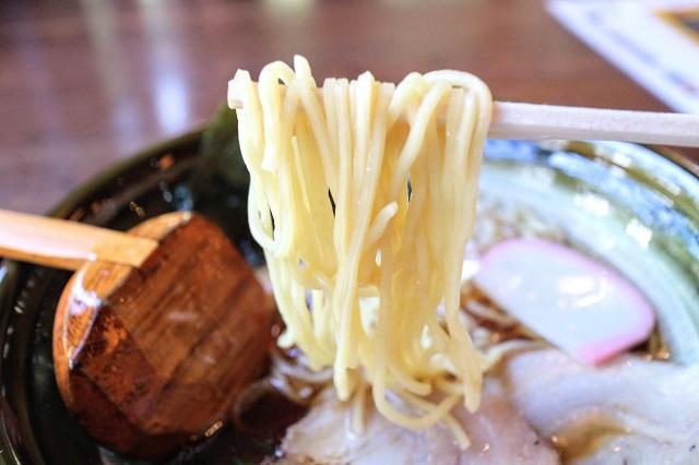 いろりばた 八王子ラーメン 麺