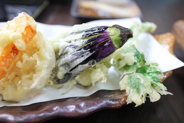かんづくり荘 旬菜天ぷら
