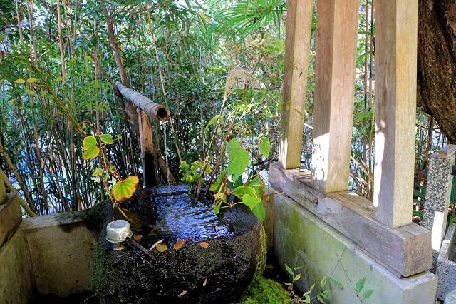 木庵 浅間山の湧き水