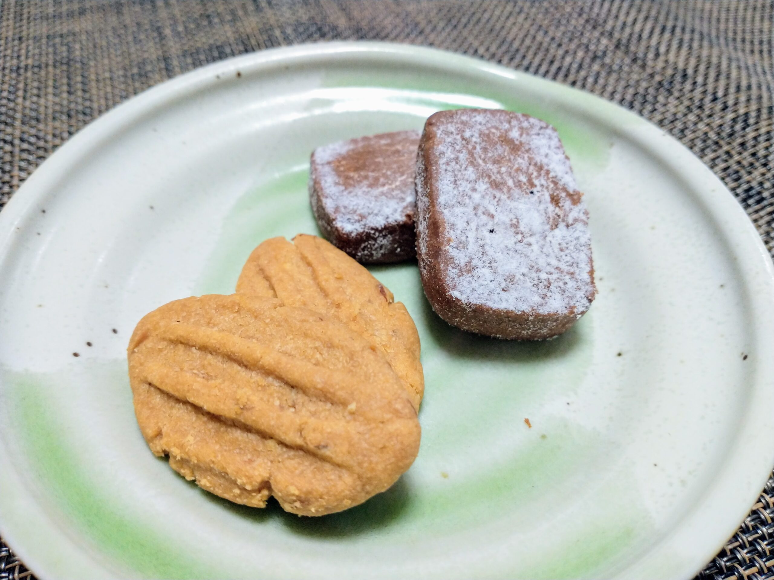 ぐりーんぴーすのクッキー